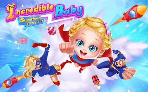 Incredible Baby - Superhero Family Life 1.4 screenshots 1