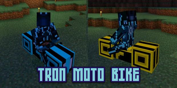 Mod Tron Moto Bike MCPE - náhled