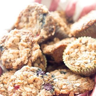 Berry Quinoa Breakfast Muffins.