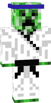 It's a creeper? it's a ninja? NO! ARE BOTH!