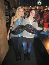Photo: tohle teda není z Liberce, ale z Brna...musela jsem se pochlubit jak nám to slušelo na Moustache party :-)