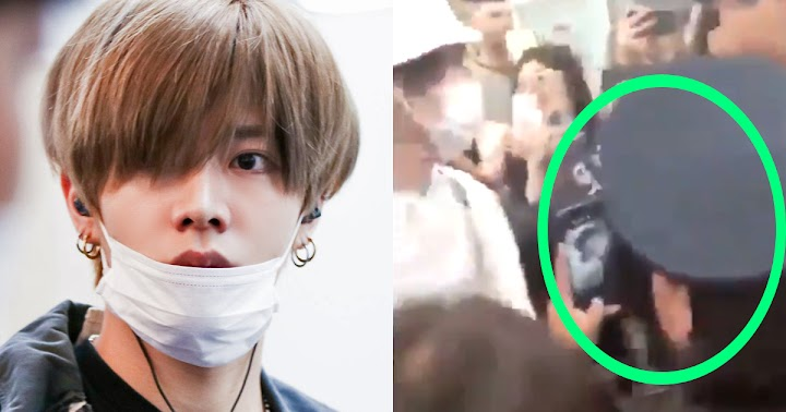 NCT 127 Was Mobbed At Mexican Airport While Security Was