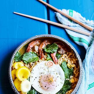 super easy Ramen Noodle Soup.