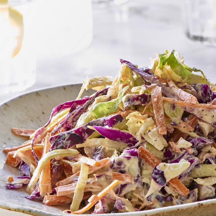 Raw Vegan Coleslaw Recipe