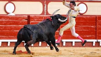 Susto en el primer toro de Enrique Ponce en el Puerto de Santa María.