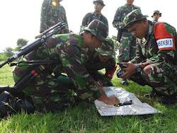 Latihan Armed 12/Kostrad Kabupaten Ngawi