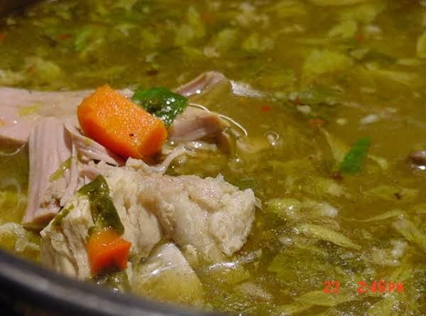 Bonnie's My Turkey Soup, Mexican Style -- Olé!
