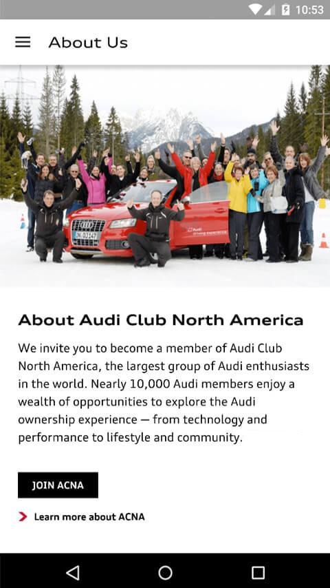 Audi Club- screenshot