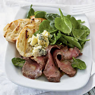 Rosemary-Dijon Grilled Steak Salad.
