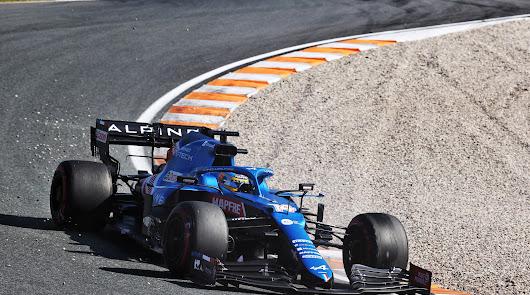 Excelente sexto puesto final  conseguido en Zandvoort por Fernando Alonso