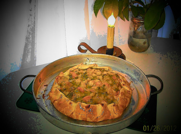 Rustic Chicken Pot Pie Recipe