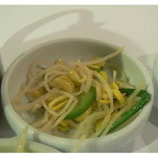 Korean Bean Sprouts.