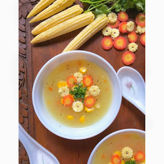 Easy Sweet Corn Soup.