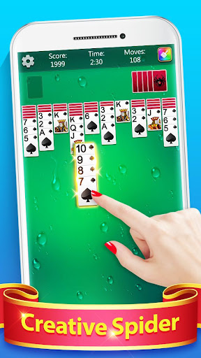 Spider Solitaire Fun screenshots 1