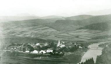 Photo: Pohľad na Tvrdošín v 20- tych rokov minulého storočia.