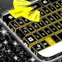 Желтый Неон Клавиатура GO