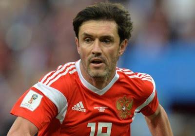 37-jarige speler van Zenit speelde tegen België laatste match van EK en als international