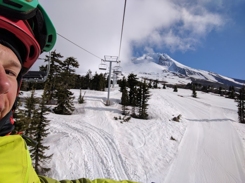 Ski time at Mt. Hood
