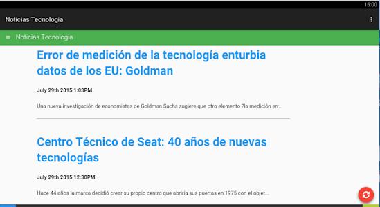 Noticias Tecnologia screenshot 0