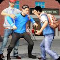 High School Fighting Gang: Gangster Teenage Karate icon