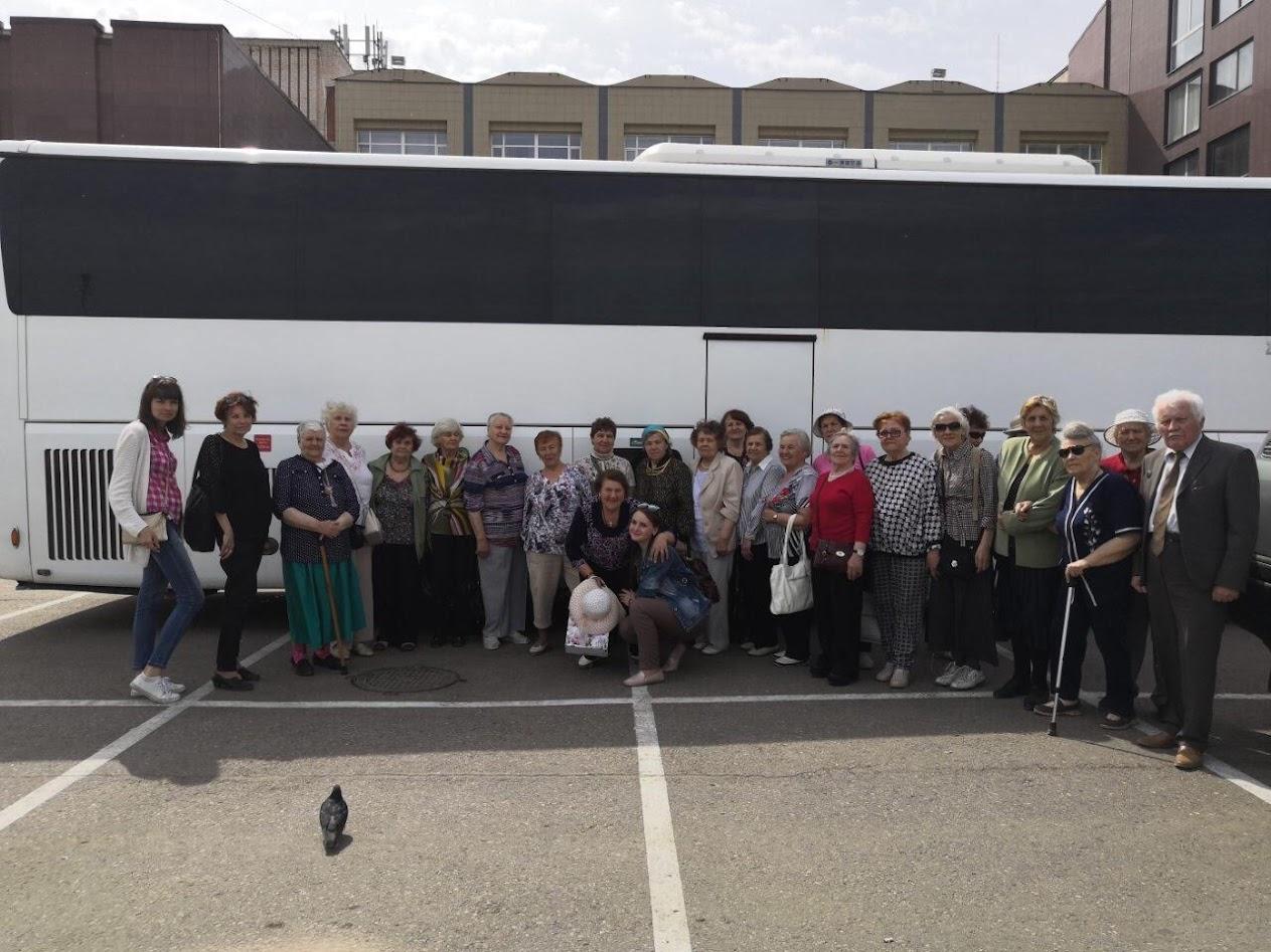 Встреча бывших узников в Тосно