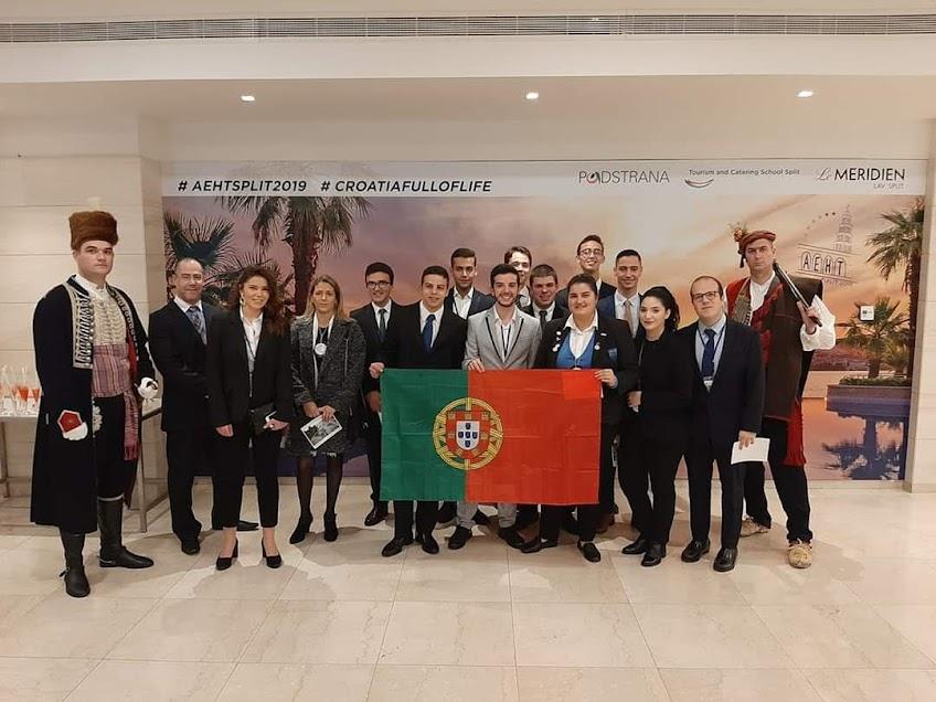 Alunos da Escola de Hotelaria do Douro – Lamego obtêm 3º e 4º lugar em competição internacional