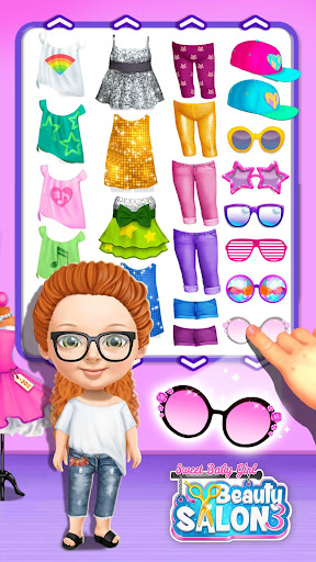Télécharger Gratuit Sweet Baby Girl Beauty Salon 3 - Hair, Nails & Spa APK MOD (Astuce) screenshots 1
