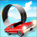 Snow Car Race & Stunts Extreme by Kaufcom icon