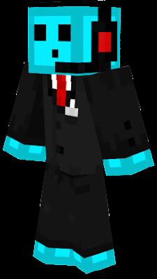 Blue Slime agent tuxedo