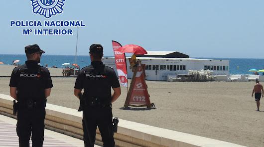 La Policía Nacional lanza 12 consejos para disfrutar de unas vacaciones seguras