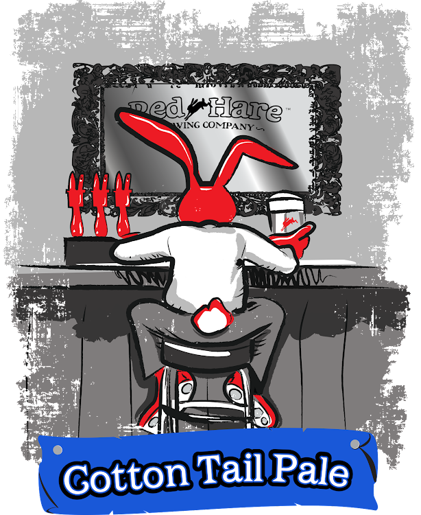 Logo of Red Hare Cotton Tail Pale Ale