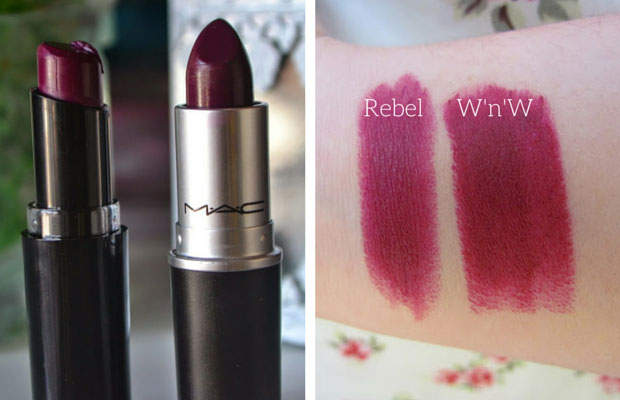 Nyx Lip Pencil - Bloom = Mac Flat Out Fabulous! Dupe ... |Mac Rebel Lipstick Nyx Dupe