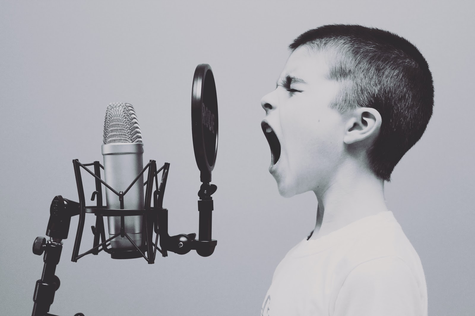 boy shouting, escalation processes for urgent matters
