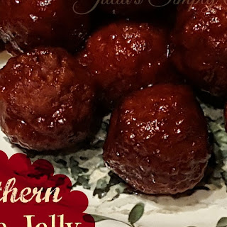 Southern Grape Jelly Meatballs Appetizers.