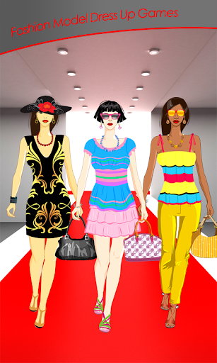 Fashion Model Dress Up Games