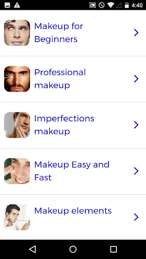 Makeup for Men 60.0 screenshots 1