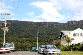Photo: Year 2 Day 175 -  Views of the Great Dividing Range to our Left