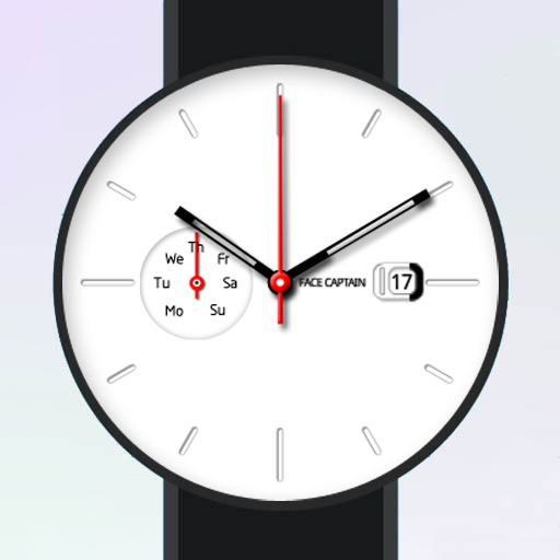 White Plate Watch Face