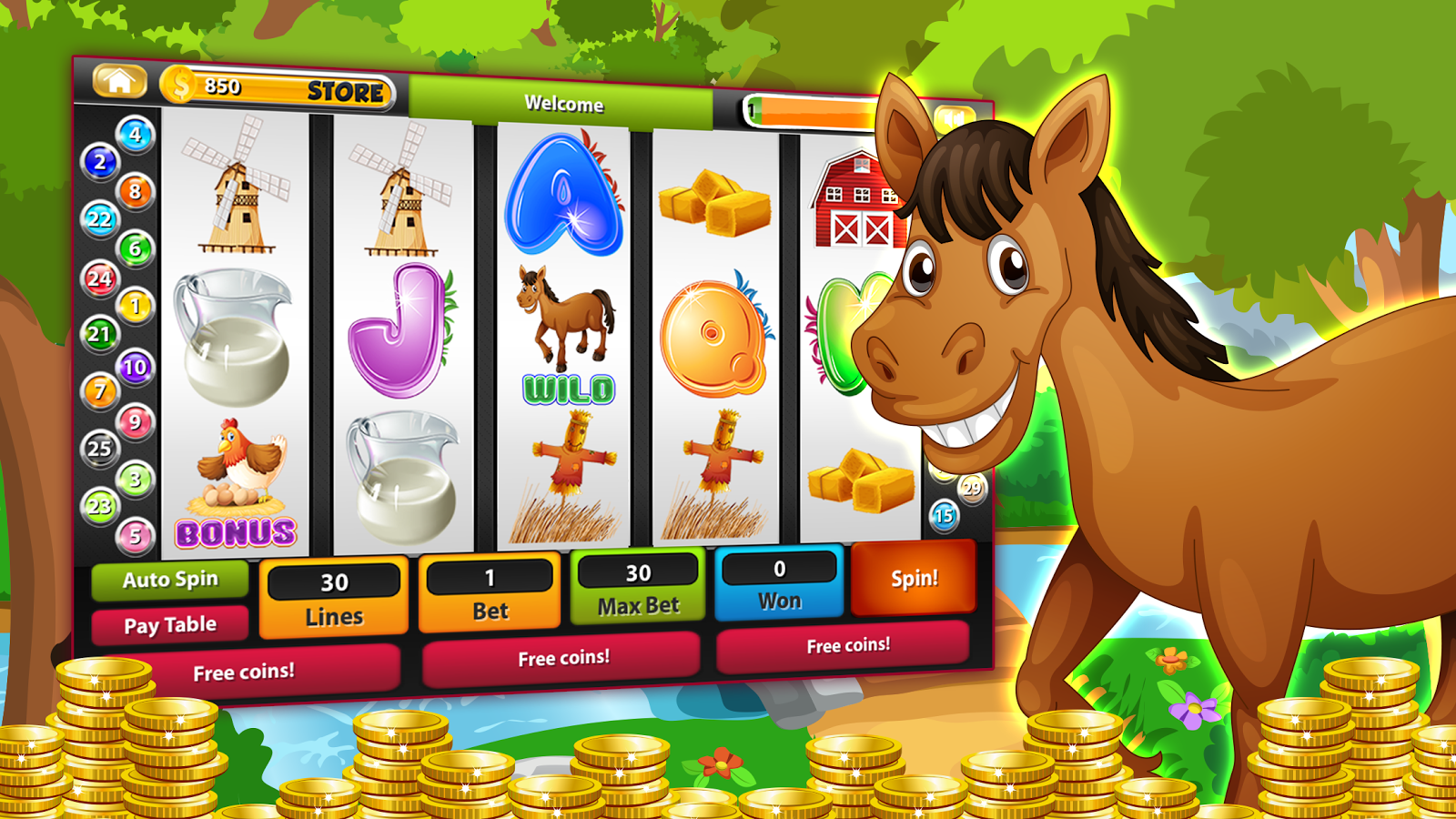 Sunny Farm Slots - Play Online for Free Instantly