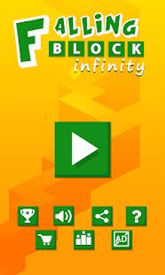 Falling Block Infinity - náhled