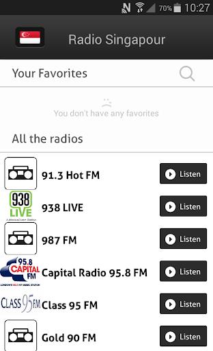 Radio Singapour - Radios SG