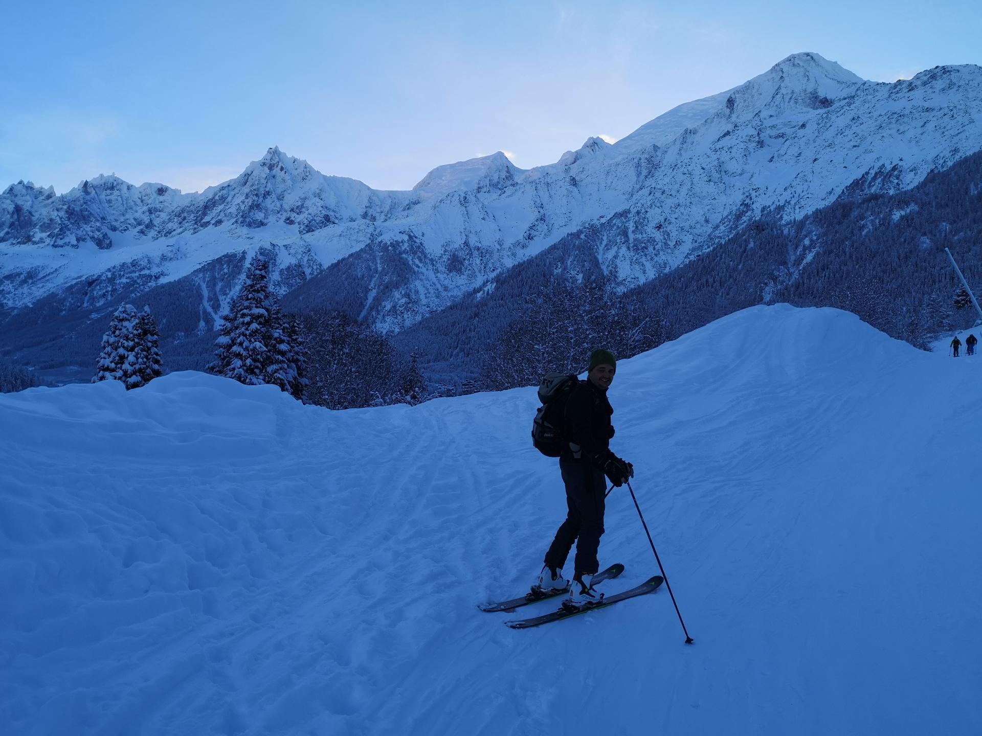Prarion rando ski