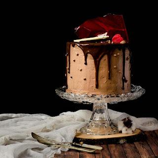{Chocolate Cherry Cake}