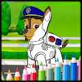 Coloring Book Paw Dogs Patrol APK