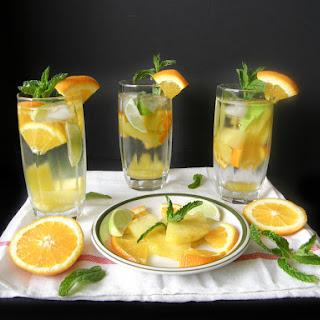 Orange Pineapple Flavored Water