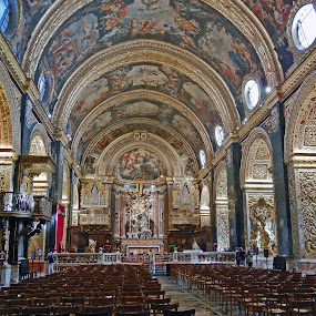 St John's Co-Cathedral, Malta by Bill Frank - Buildings & Architecture Places of Worship