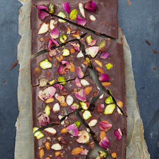 Rose & Pistachio Raw Chocolate Recipe