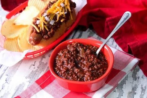 Jamie's Doggone Good Hot Dog Chili