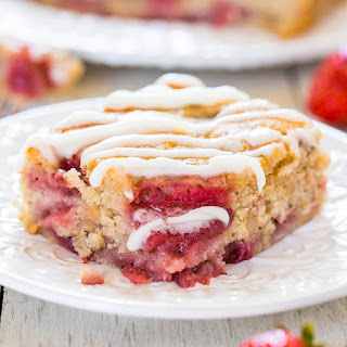 Soft and Fluffy Strawberry Banana Cake (Vegan) Recipe
