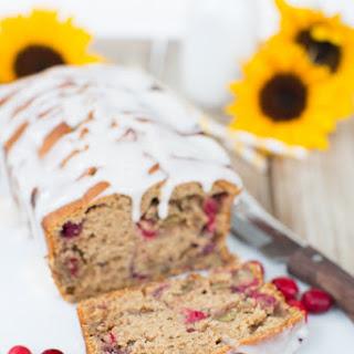 Whole Wheat Cranberry Walnut Bread.